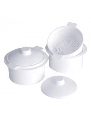 Емкость-контейнер НЕ автоклавируемый для дезинфекции фрез (до 65 °С)
