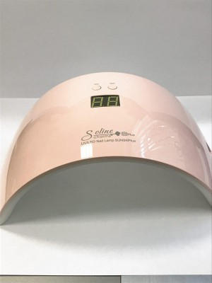 Лампа УФ+Led розовая Solin Charm SUN 9X Plus