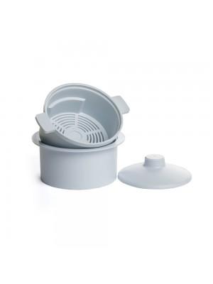 Емкость-контейнер автоклавируемый для дезинфекции фрез (до 120 °С)